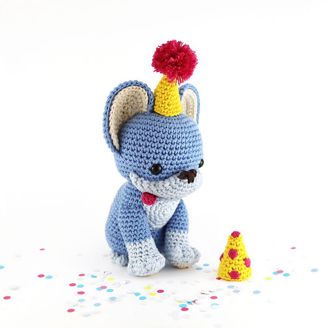 Party pup free pattern schemi gratis amigurumi amigurumi free download