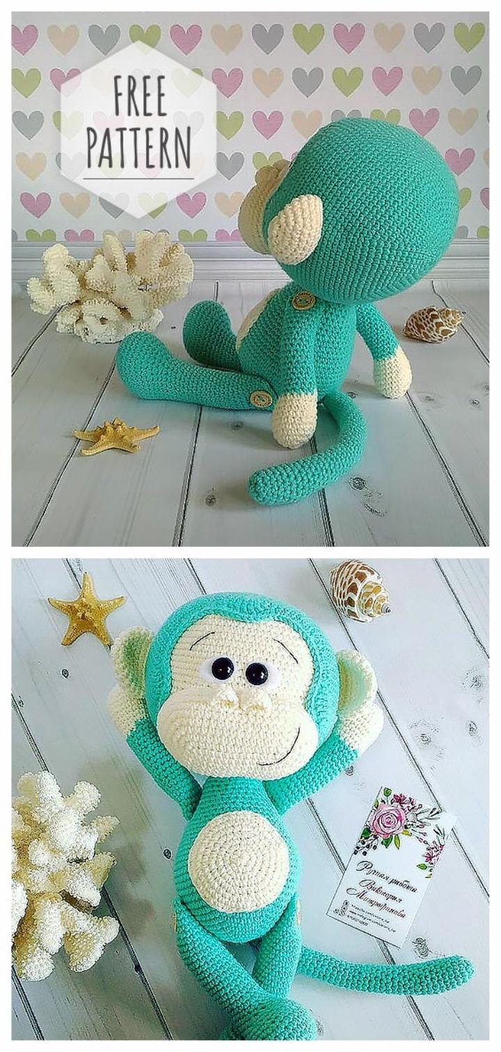 scimmia free pattern schemi gratis amigurumi amigurumi free download