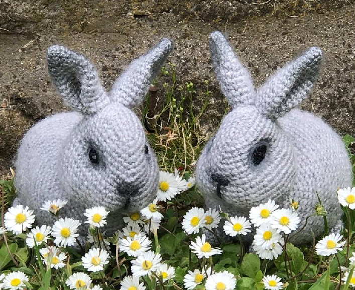 Bellissimi conigli russi free pattern schemi gratis amigurumi amigurumi free download