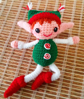 Folletto di Natale free pattern schemi gratis amigurumi amigurumi free download