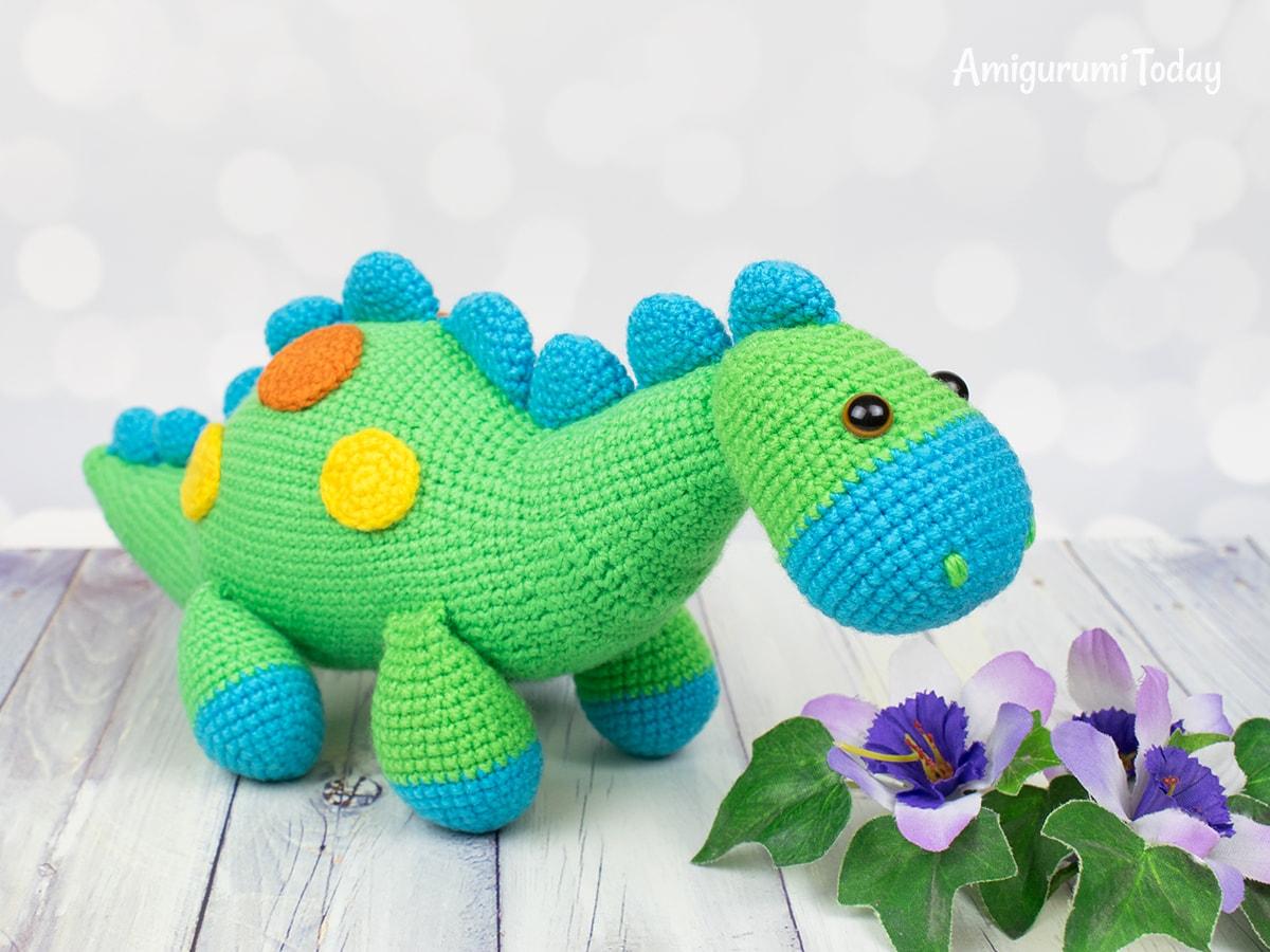 Easy dinosauro free pattern schemi gratis amigurumi amigurumi free download