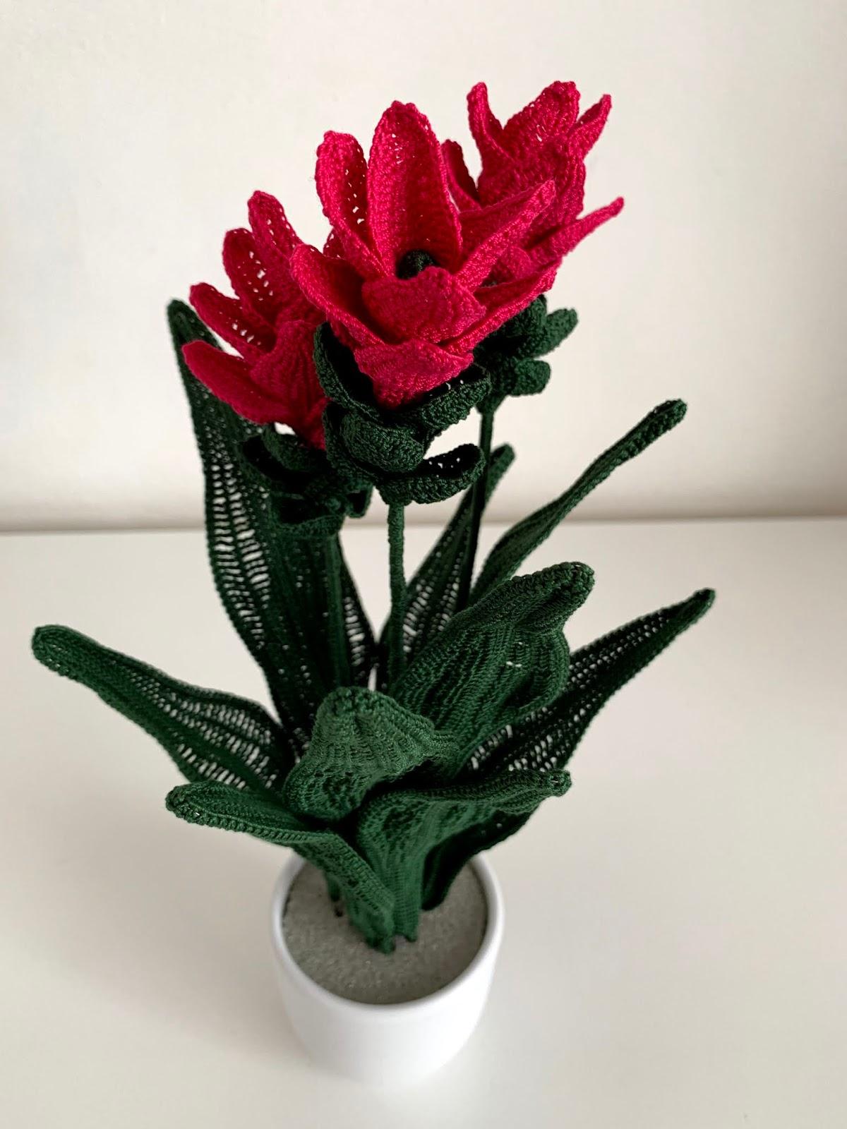 fiore della curcuma free pattern schemi gratis amigurumi amigurumi free download