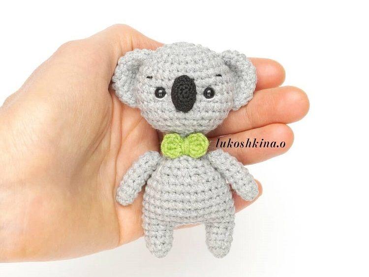 Piccolo Koala free pattern schemi gratis amigurumi amigurumi free download