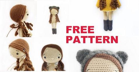 Easy bambola free pattern schemi gratis amigurumi amigurumi free download