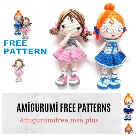 Bamboline Amigurumi free schemi gratis