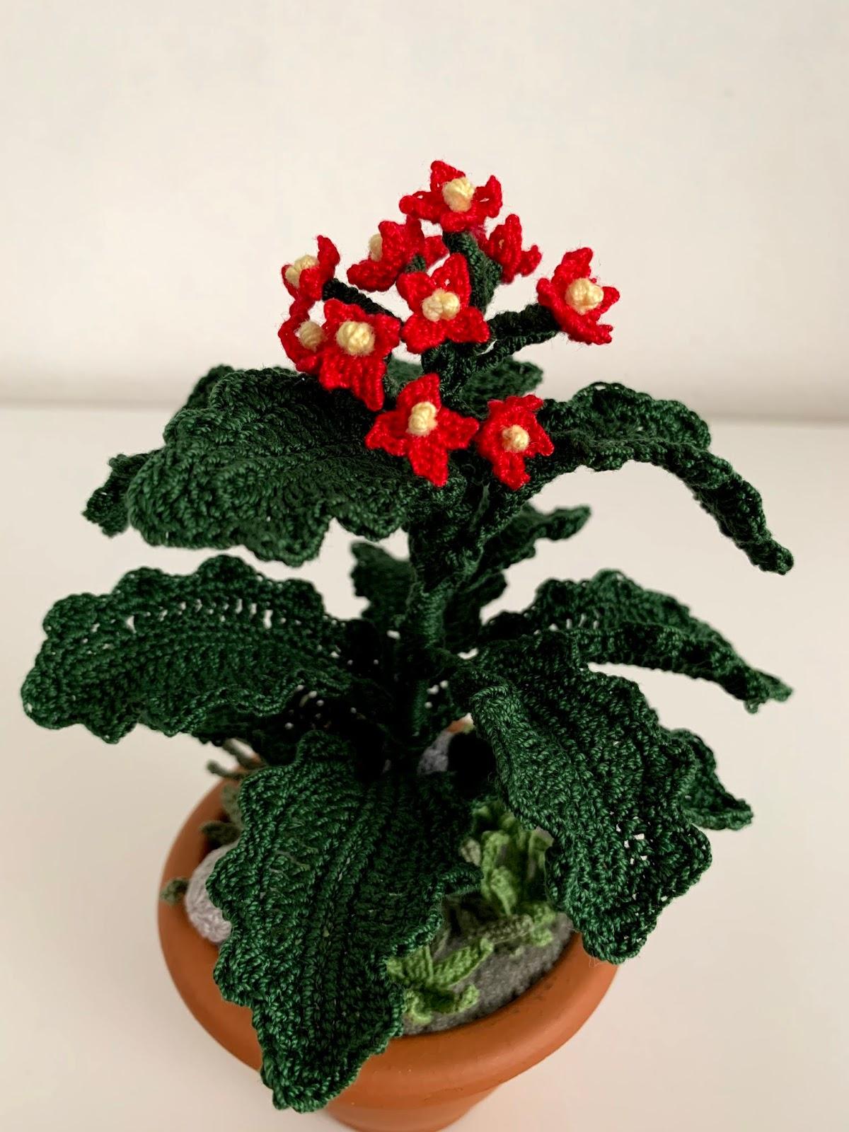 Fiore in Vaso amigurumi free pattern