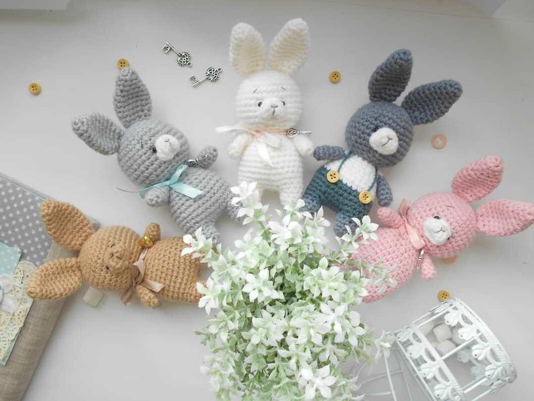 Conigli e Coniglietti Amigurumi free
